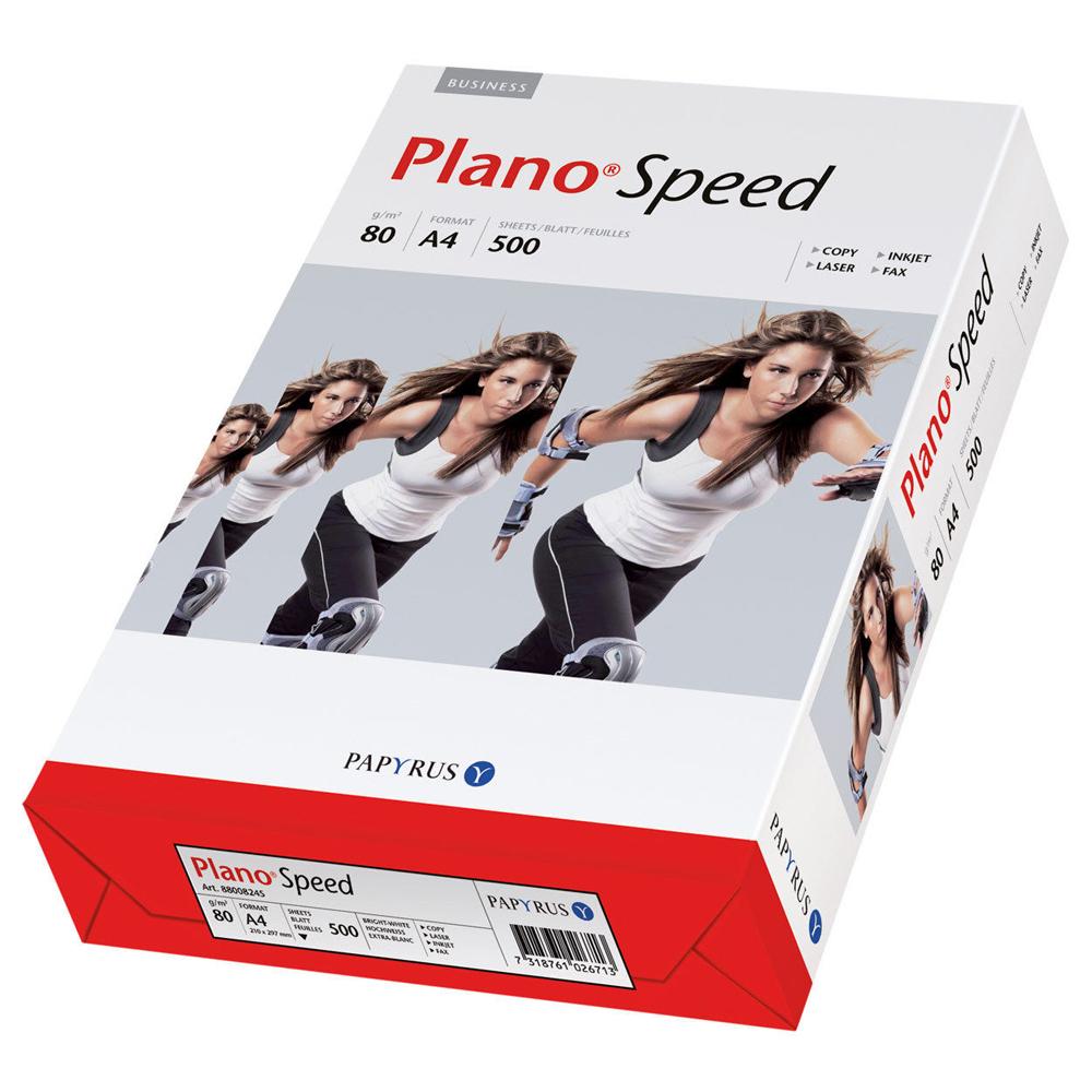 Papier A4 80g Kopierpapier Druckerpapier Tinte Fax Multispeed  Plano Speed Weiß